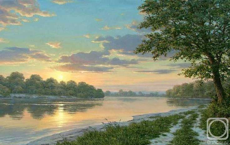 Олейник Аркадий. Река Кубань