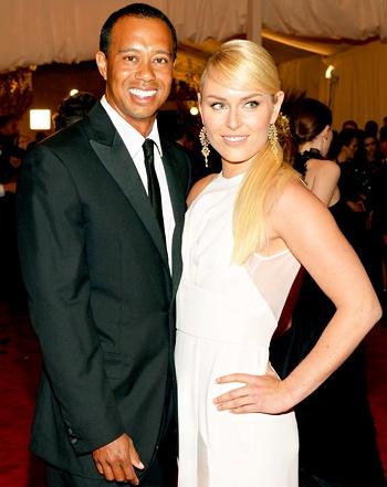 Tiger Woods, Lindsey Vonn Attend Met Gala 2013 Together: Picture