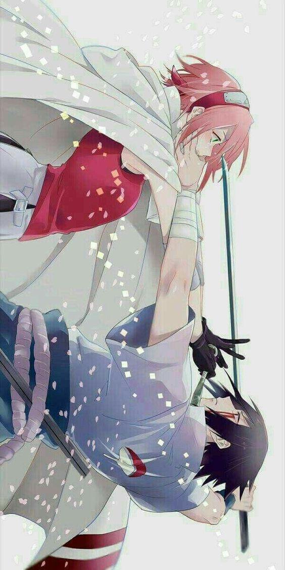 Sakura & Sasuke,is it trure love? #sakura #sasuke …