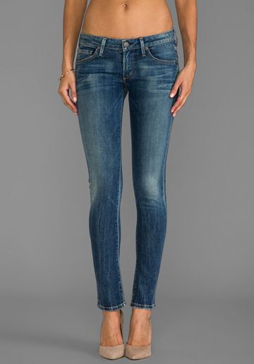 Just sharing that I like these jeans...and do own them.  Citizens Of Humanity Racer Low Rise Ultra Skinny in Slash $229.00
