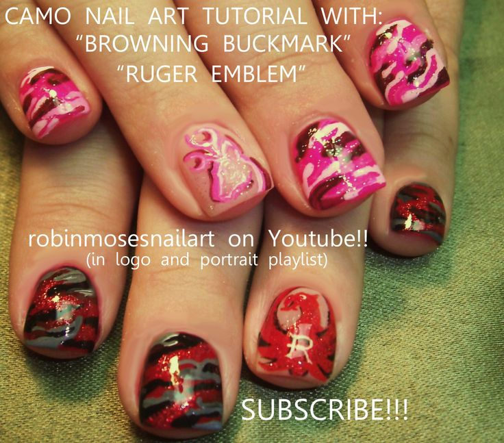 Nail Art Designs Tutorial Youtube: 67 Best Images About SUPER COOL Nail Art With Tutorials