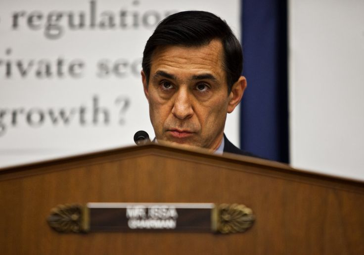 Representative Darrell Issa's private and business lives often overlap, with at least some of his government actions helping make him richer.