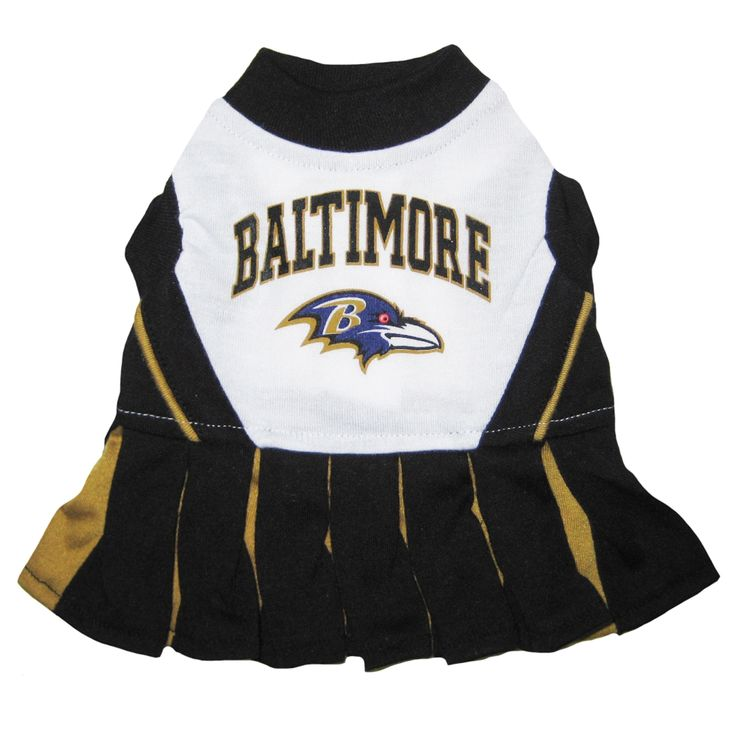 First Baltimore Ravens Cheerleader Dog Dress