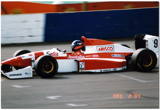 Pedro Paolo Diniz - Reynard 94D Cosworth AC - Forti Corse - BRDC International Trophy - 1994 International F3000 Championship, round 1 - © Antsphoto
