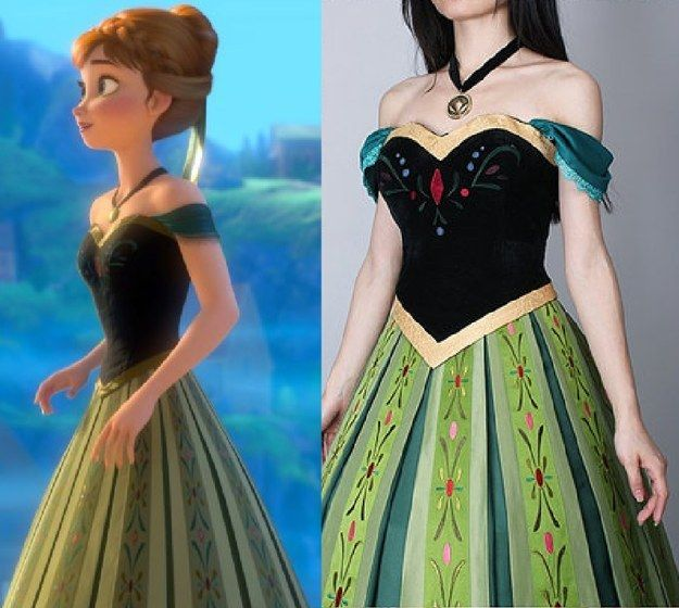 Anna, Frozen   Community Post: 16 Ridiculously Good-Looking Disney Costumes You Can Actually Buy