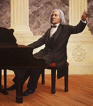 Franz Liszt, famous pianist and composer