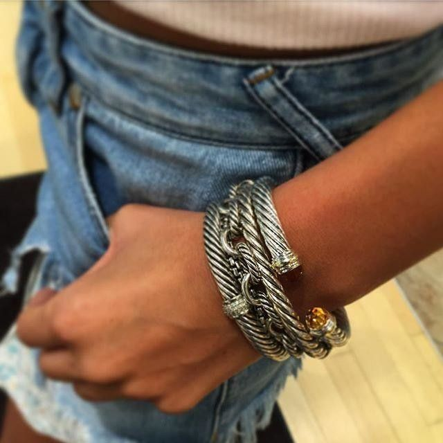Stacking David Yurman Champagne Taste Yurman Bracelet
