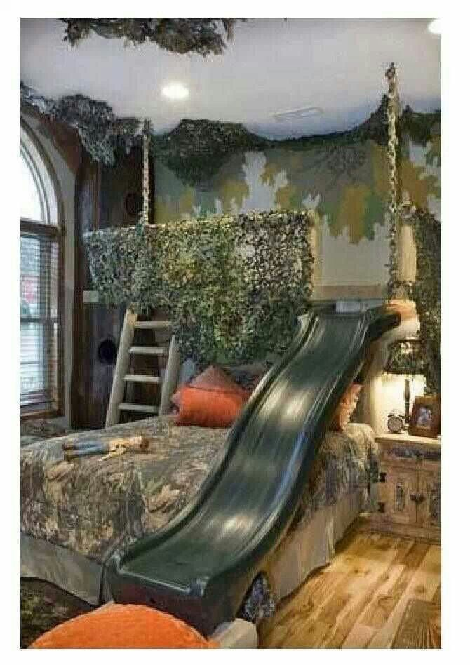 Camo Boys Room Home Ideas Pinterest Nu Est Jr Sleep