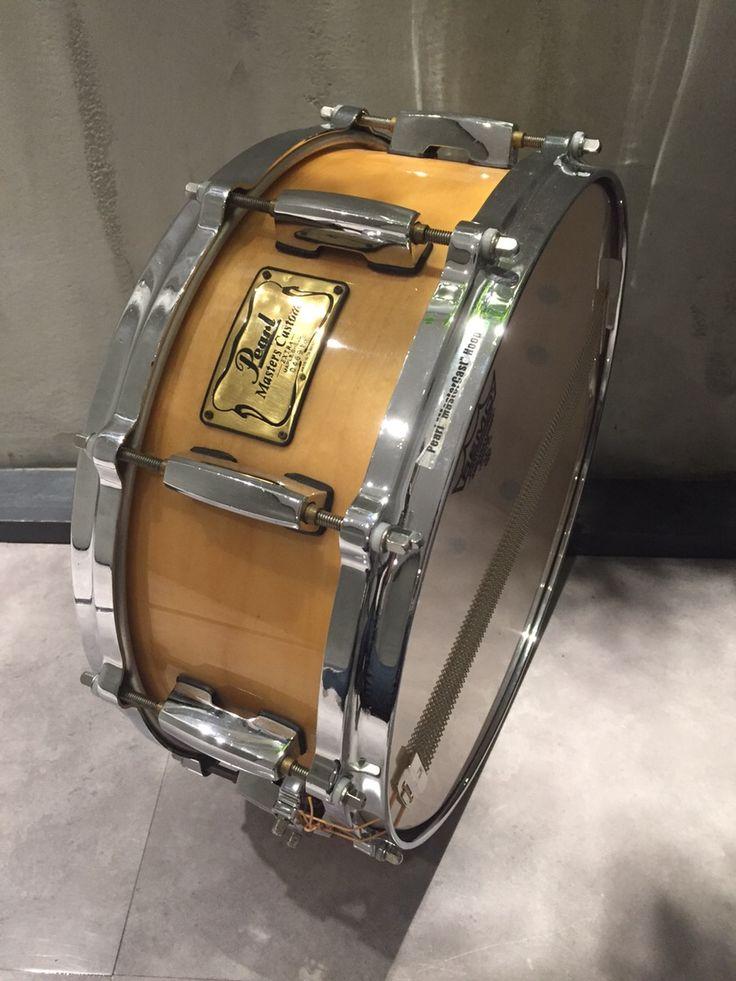 Pearl Master Custom EXTRAMaple 14×5 美ボディ!メタルシェルに負けない音の厚み!サウンドスタジオノア秋葉原店03-5816-8383 #drum #music #studionoah #ドラム #スネア #Pearl