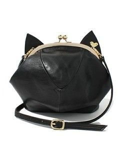 Love this black cat bag