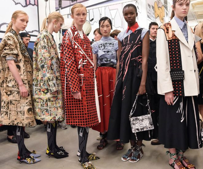 Prada Spring Summer 2018 Fashion Show Parade #thatdope #sneakers #luxury #dope #fashion #trending