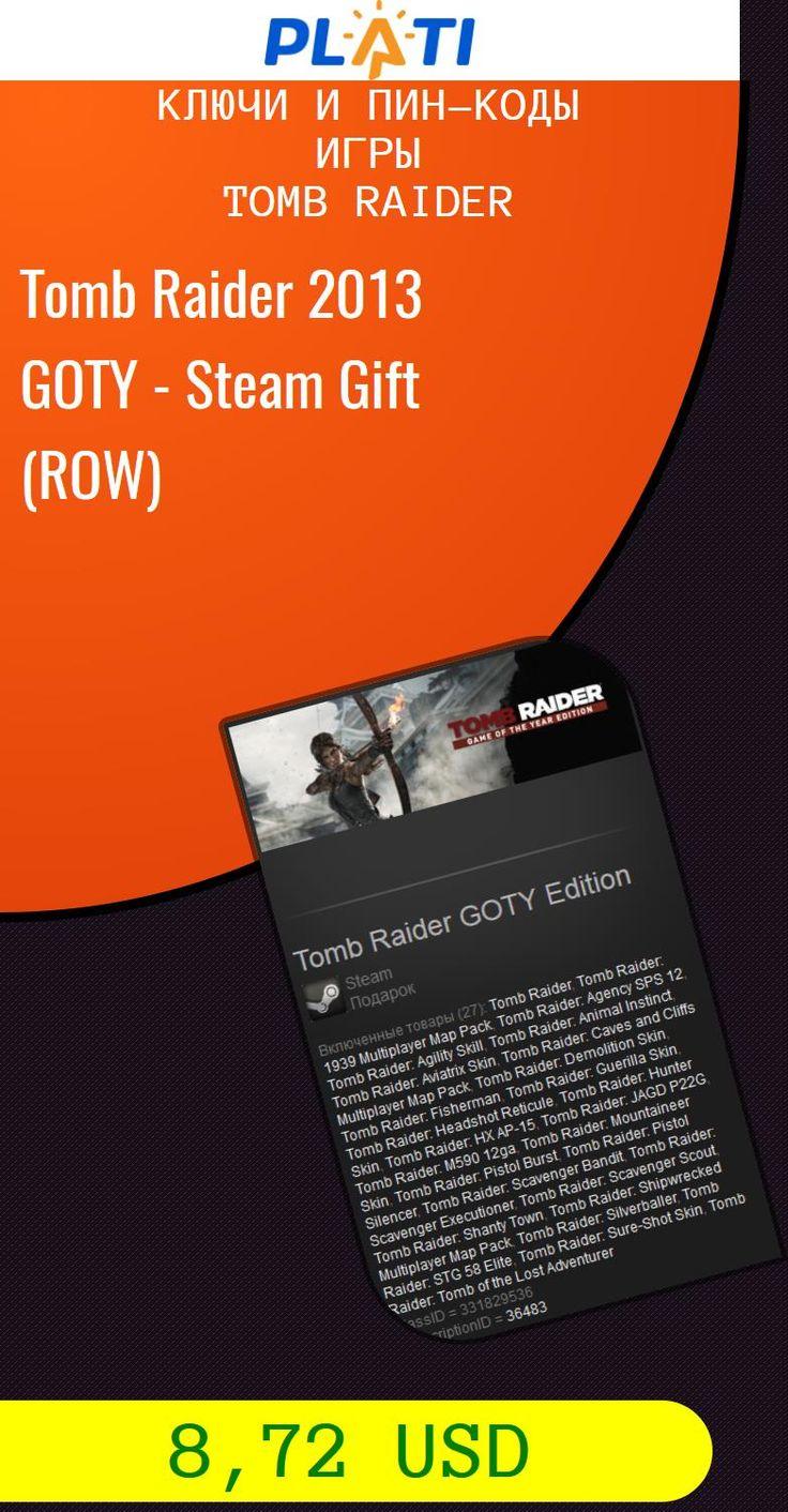Tomb Raider 2013 GOTY - Steam Gift (ROW) Ключи и пин-коды Игры Tomb Raider