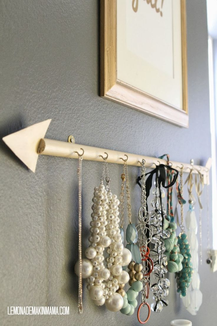Jewelry Hanger Part - 48: Lemonade Makinu0027 Mama: The Arrow Jewelry Holder ...