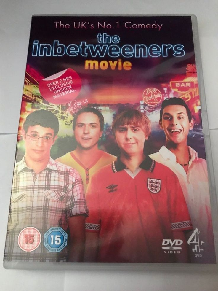 Only £1.42!! The Inbetweeners Movie DVD (2011) Simon Bird Fast Free Postage