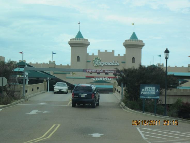 Enterance to Fitzgerald's Casino in Tunica, MS