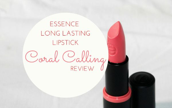 BAA | Beautiful As Always - Indian Makeup And Beauty Blog by Sayantani Ghosh Dastidar | Essence Long Lasting Lipstick Coral Calling Review , Swatch , Price and Buy in India | http://www.beautifulasalways.com
