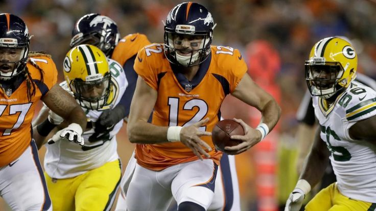 Broncos QB Paxton Lynch to miss several weeks with shoulder injury