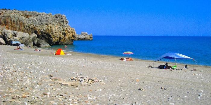 Peristeres Beach in Rodakino, Rethimno, Crete