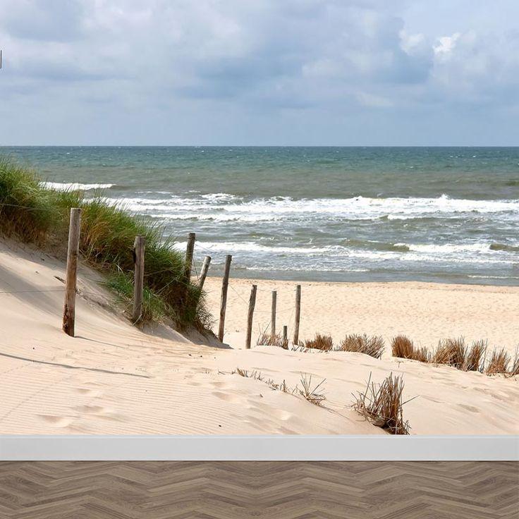 Fotobehang Zee strand en duinen. Met gratis digitale drukproef. Verkrijgbaar In zelfklevend en vliesfotobehang. Bestellen? YouPri.nl