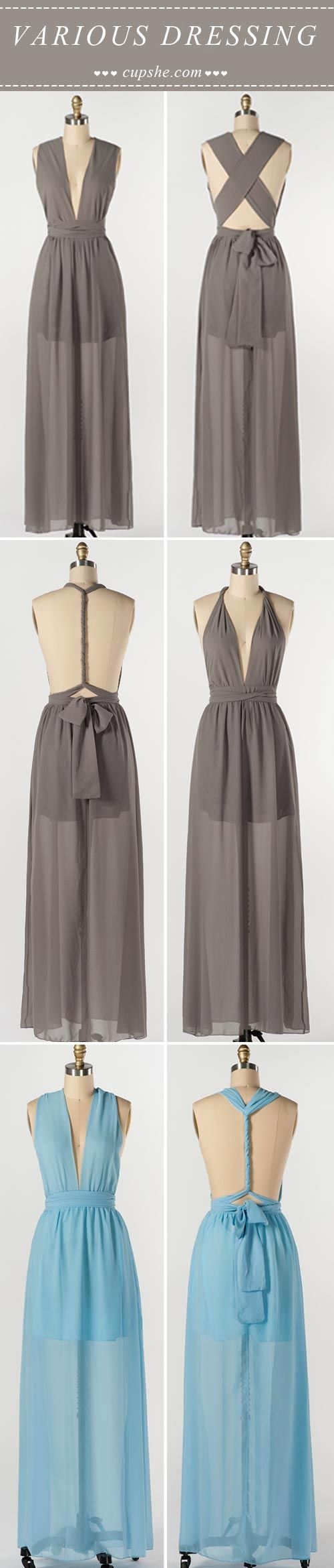 This is a perfect date choice. ONLY $19.99 can you become the shining star in Free Matching Maxi Dress.  Check and shop this at Cupshe.com