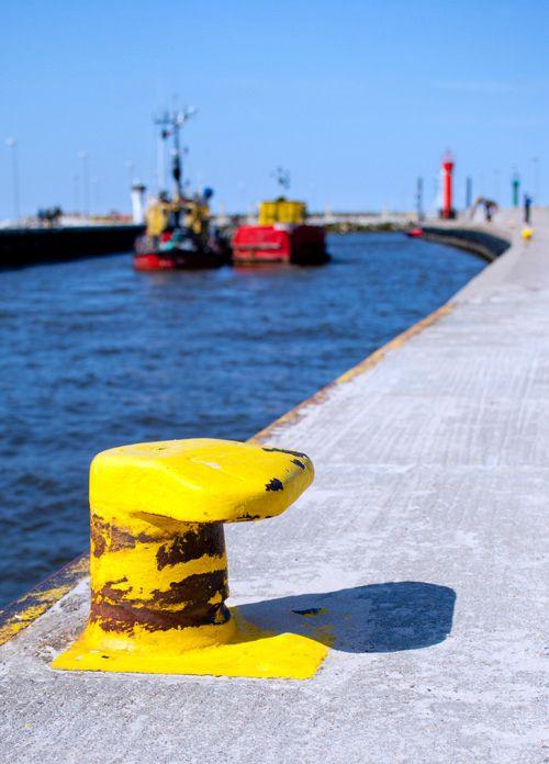 łeba - harbour