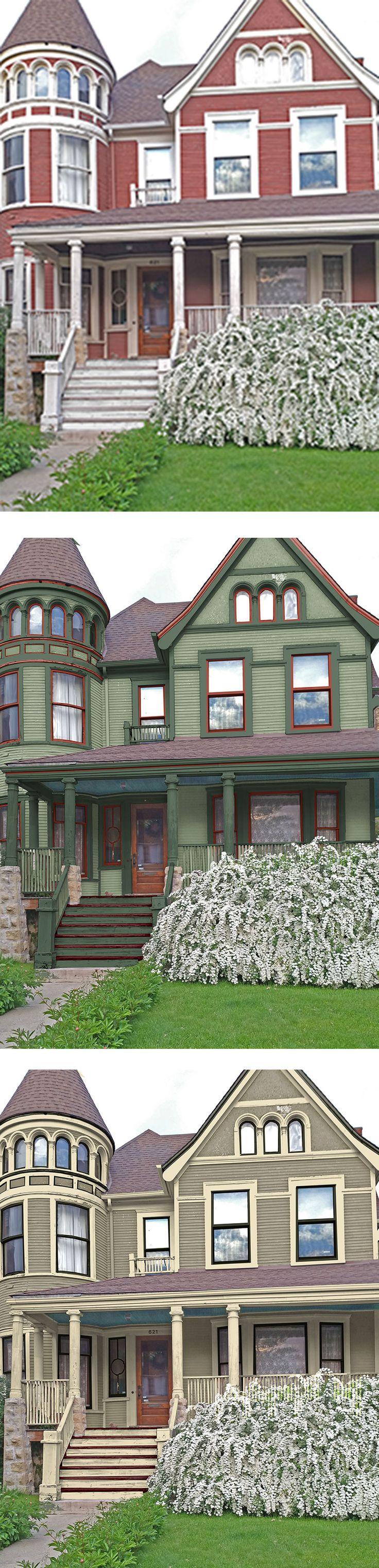 190 best Old House Restorations, Historic Paint Colors, Home ...