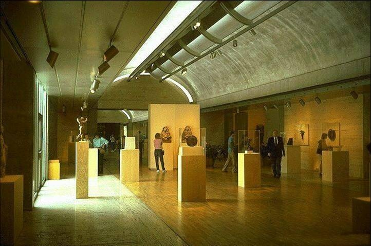 Kimbell Art Museum by Louis I. Kahn
