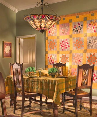 180 best Decorating with Quilts images on Pinterest | Chairs ... : ways to display quilts - Adamdwight.com