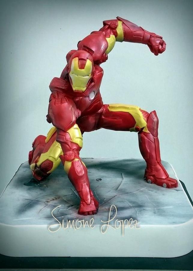 Iron Man Cake Topper by simonelopezartist
