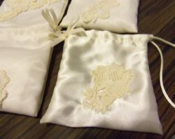 Favored1. DIY Bridal Wedding Pouch, Tissue & Lipstick Pouch. Thinking back on my own wedding day is what caused me to create wedding tissue and lipstick pouches. I can remember stuffing my handkerchief up...