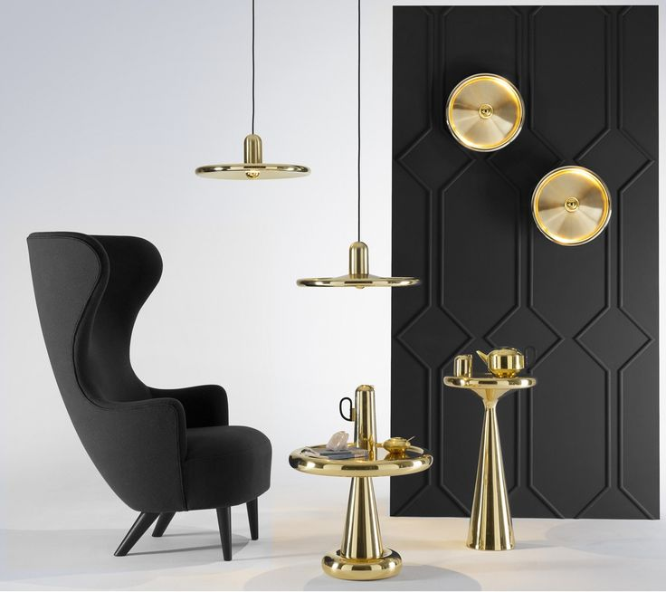 WINGBACK armchair by #tomdixon - A series of upholstered furniture inspired by the 18th Century British Gentleman's Chair. Designer : @tomdixonstudio