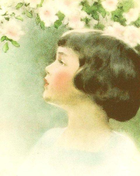 """Bessie Pease Gutmann """"Seeing"""" 1934"""
