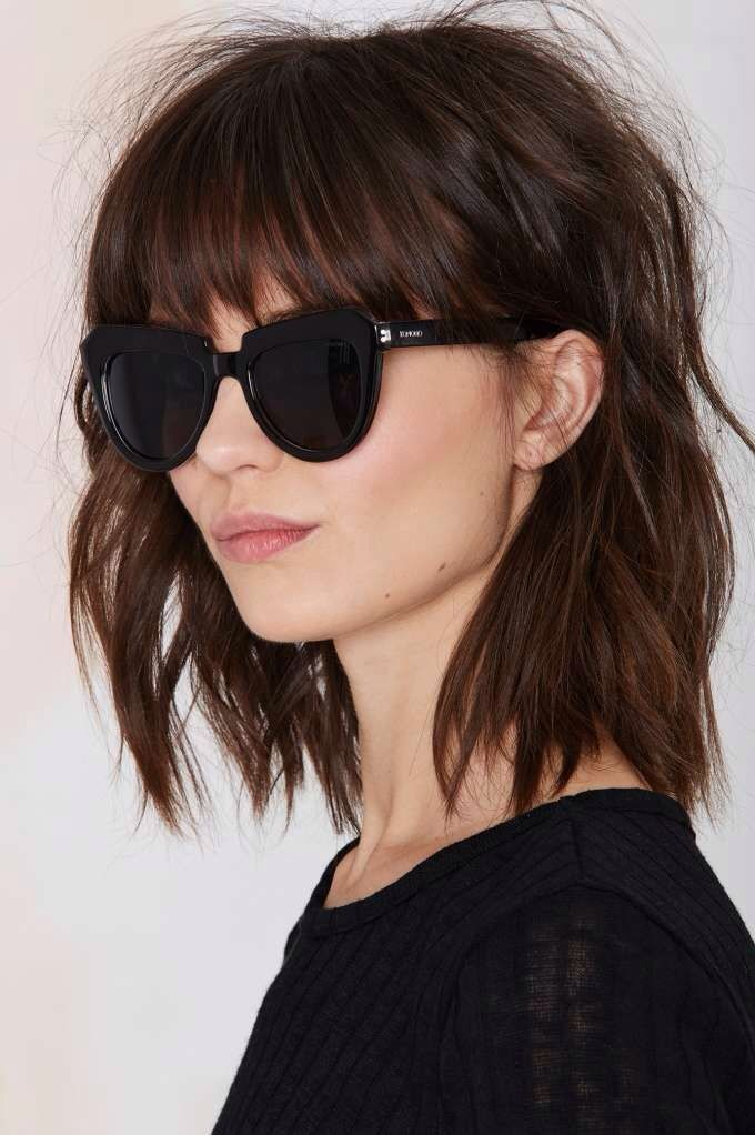 Like Hair Style Komono Stella Shades. Find This Pin And More On Katie  Holmes Bob ...