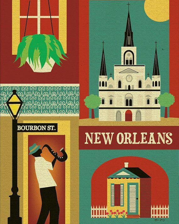Stile New Orleans di Skyline  Louisiana