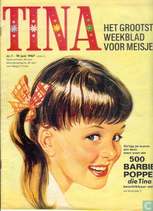 Nr.1 - 10 juni 1967 week 23 Vanaf nr.1 hadden we een abonnement en 't was altijd kibbelen met m'n zus wie hem het eerst mocht lezen.