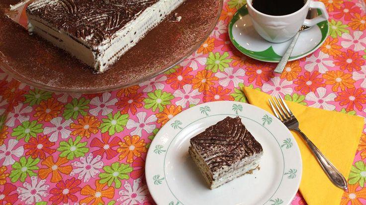 Petit Beurre taart met Stroh rum | VTM Koken