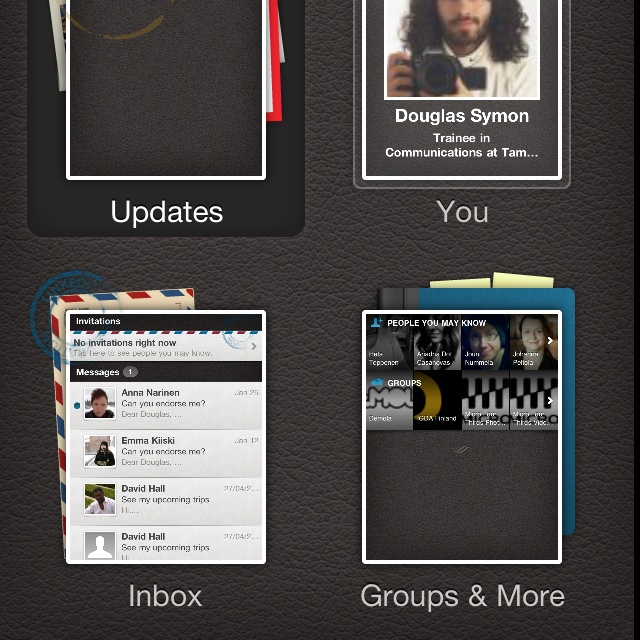 There are no words to describe how much I dislike the current version of the LinkedIn iPhone app!