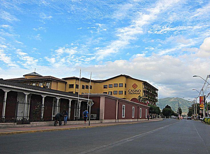 Santa Cruz, Chile Parte del Museo Colchagua y el Casino al fondo
