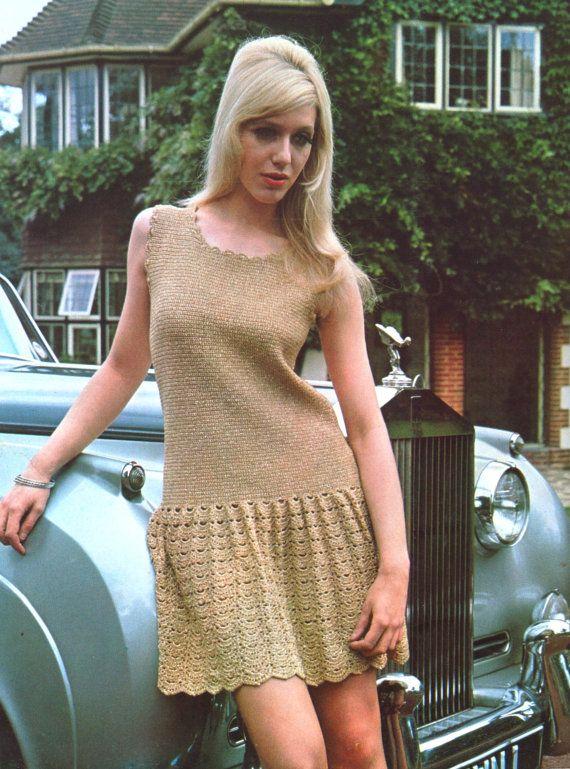 Vintage Women's  Crochet Dress Pattern / by LoveFromNewZealand