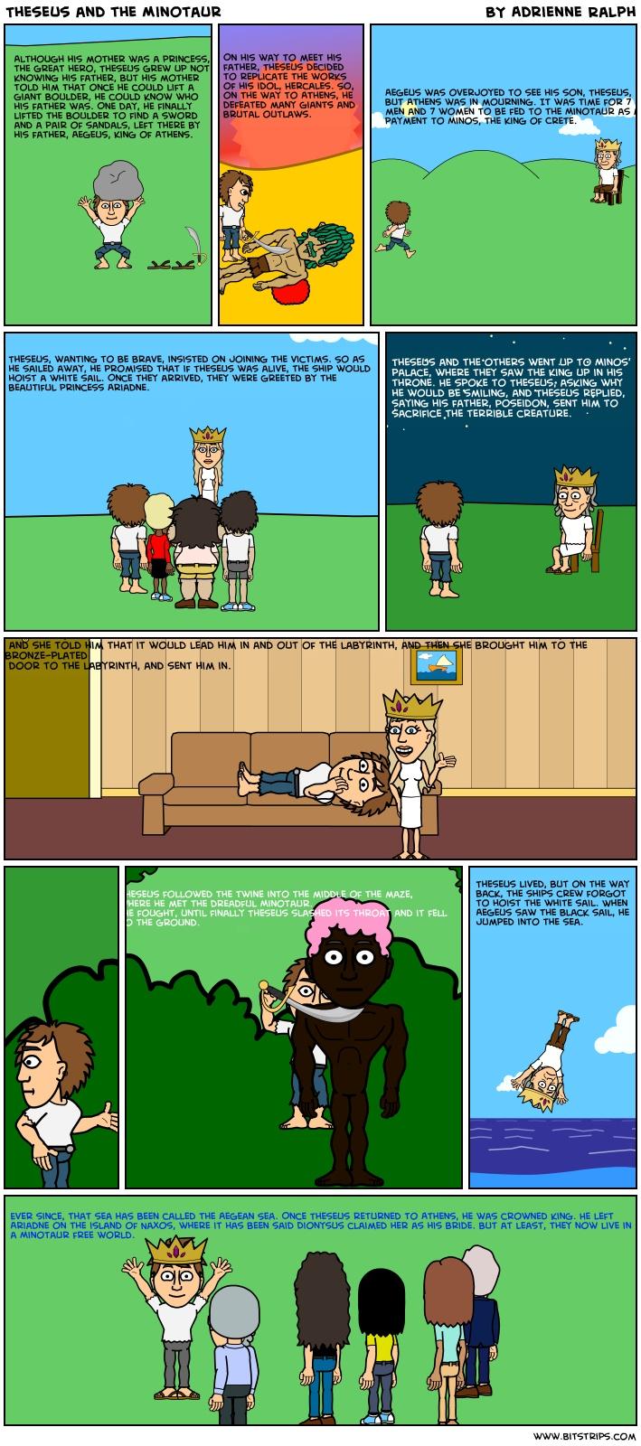 theseus and the minotaur game