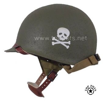 WWII Paratrooper Airborne M1C Helmet Band of Brothers