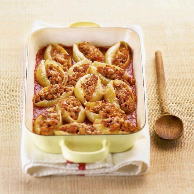 Gevulde pastaschelpen - Libelle Lekker