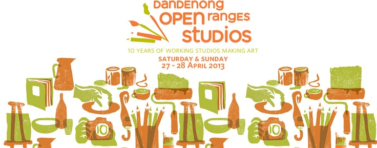 The Dandenong Ranges Open Studios program kicks off with a Group show on the theme of 'Tension' at Burrinja Gallery.  35 artists' studios in the hills will be open for you to visit...