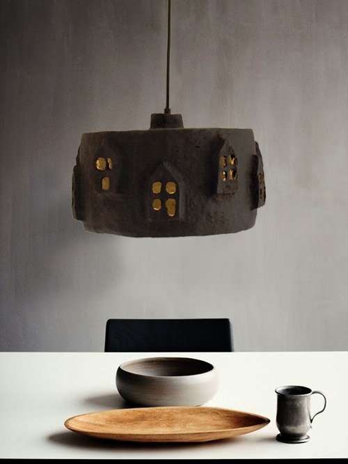 17 best images about paper mache samples on pinterest for How to make paper mache lamps
