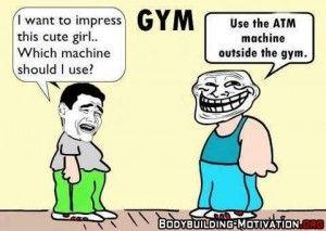 Trening szczęki - humor na silowni - life-in-the-gym.pl