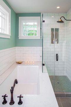 Craftsman Revived - transitional - Bathroom - Austin - CG&S Design-Build