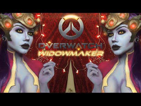 Overwatch Widowmaker - Makeup Tutorial. - YouTube