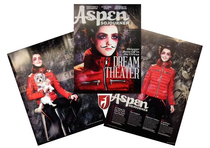 #Aspen Sojourner USA. Dream Theater #skiwear runs off to the circus. #tonisailer #skijacket Pauline.