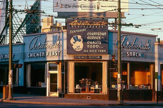 vintage everyday: Wonderful Color Photographs of Street Scenes of Vancouver, Canada in the 1970s