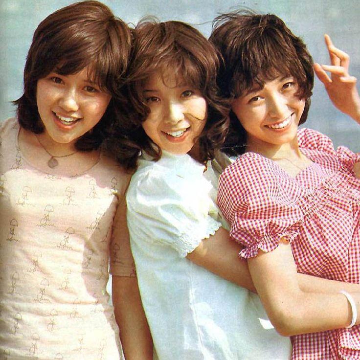 """キャンディーズ (1972 -1978) ☆田中好子・伊藤蘭・藤村美樹 / The legendary girls idol trio """"Candies."""""""